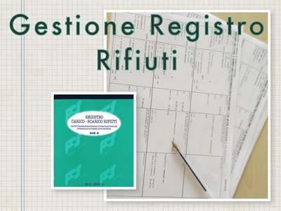 Servizio di Gestione del Registro Rifiuti