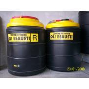 Cisterne per olio minerale usato
