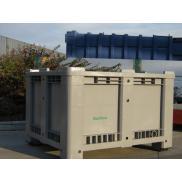 Contenitore per batterie e filtri olio usati